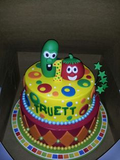 Veggie tales. Cute!! Let's make it more girly tho!