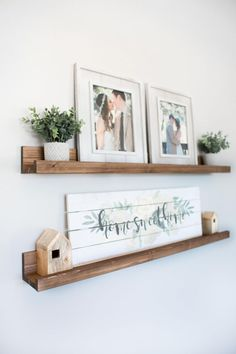 Rustic Wooden Picture Ledge Shelf Ledge Shelf Ledge Shelves Rustic Floating Shelf Wooden Shelf Rustic Home Decor Gallery Wall Gallery - Floating Shelves - Ideas of Floating Shelves Decor, Shelves, Wooden Picture, Cheap Home Decor, Home Decor, Rustic Home Decor, Rustic Floating Shelves, Picture Ledge Shelf, Rustic House