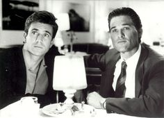Tequila Sunrise. Kurt Russell and Mel Gibson were incredibly swoonworthy in this flick from the 80's.