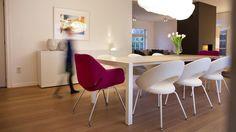 Sushi Honeycomb wood table by Kristalia - natural oak #wood #designtable #homedecor