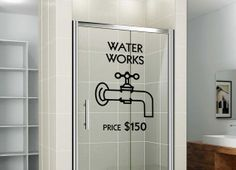Hey, I found this really awesome Etsy listing at https://www.etsy.com/listing/172020112/monopoly-waterworks-shower-door-or