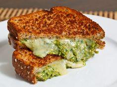 Receta de Sandwich con Pesto de Espárragos