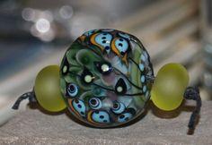 Blue bird trio destash by HealingBeads on Etsy (Craft Supplies & Tools, Jewelry & Beading Supplies, Beads, handmade, bird, blue bird, turquoise, lampwork beads, glass lampwork, anastasia, petal bead, focal, jewelry, bracelet, necklace, pendant)