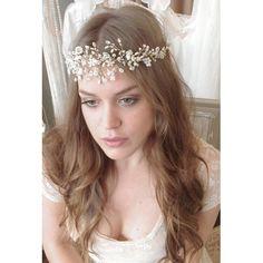 Pearl Eleanor Vine Forehead Wrap
