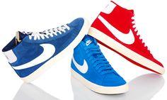"""Der """"Blazer Premium Retro"""" Sneaker von NIKE: 70er Jahre Feeling trifft moderne Schuh-Technologie  Der """"Blazer"""" gehört zu den absoluten Klassikern im Sortiment von Nike und kommt immer wieder in verschiedenen Low-, Mid- und Hi-Top Varianten in die Läden. Nike ist dabei stets darauf bedacht, dass das coole Retro-Design und der beliebte Vintage-Look erhalten bleiben."""