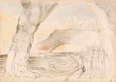 The Devils Under the Bridge (Inferno, Canto XVIII), William BLAKE - NGV