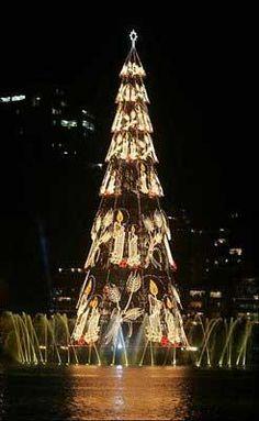 Creativos Árboles de Navidad  diseño arte  navidad