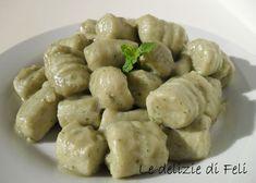 Gnocchi di tofu e zucchine Raw Food Recipes, Veggie Recipes, Healthy Recipes, Vegan Life, Raw Vegan, Vegan Food, Gnocchi, Pasta Casera, Dukan Diet