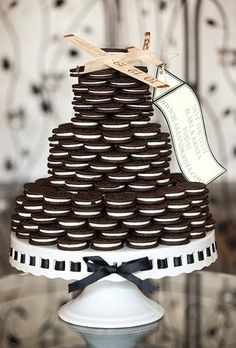 Step Outside the Box with Alternative Wedding Cake Ideas - MODwedding, my husband would have loved this cake!!