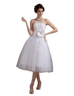 JOLLY BRIDAL Short Tulle Lace Floral Wedding Dress Size 2 JOLLY BRIDAL,http://www.amazon.com/dp/B00JC5SMB8/ref=cm_sw_r_pi_dp_TDDutb1RFTW3K039