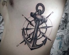 Anchor Sleeve Tattoo For Men