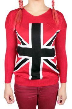Punainen UK Paita