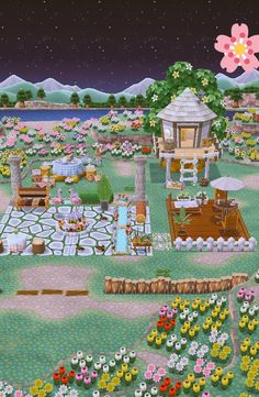 Pocket Camp (not my own) ☺️