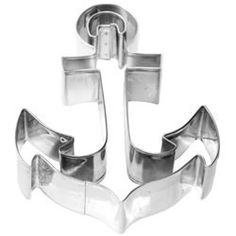 Cookie Cutter Boat Anchor Stainless Steel- $6.50. Going to make these for my coastie