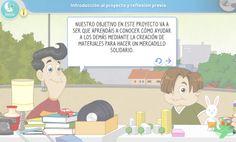 Recurso educativo: Rectas y ángulos. Mercadillo solidario | Matemáticas. Primaria