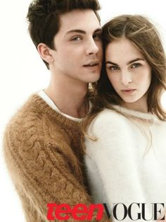 alright, this chick can go ahead and leave this picture. still stuck on Logan Lerman. not sorry about it.