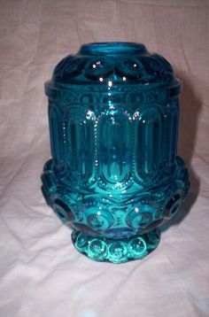 blue vintage fairy lamp