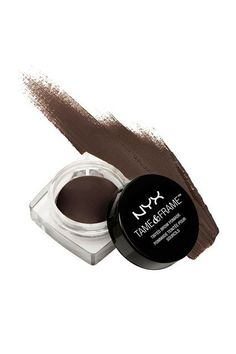 Buy NYX Professional Makeup Tame & Frame Tinted Brow Pomade - Brunette and Collect 4 Advantage Card Points when you spend Makeup Dupes, Skin Makeup, Beauty Makeup, Diy Beauty, Eyebrow Game, Eyebrow Brush, Kylie Jenner Makeup Look, Bold Eyebrows, Shopping