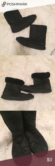 Black uggs. Still have some wear left in them! UGG Shoes