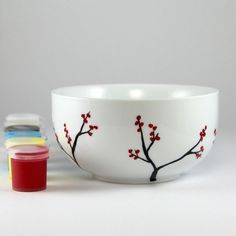 Bella Paint for Glass Kit - Circle Bowl