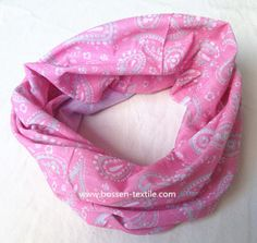 Promotional Customized Pink Paisley Seamless Biker Headband Neck Tube Ski Scarf on Made-in-China.com