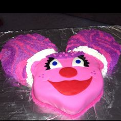 Abby cadabby cake I made today for a 2 year olds birthday :) proud