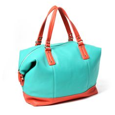 Amrita Singh Soho Color Block Tote ($120) ❤ liked on Polyvore