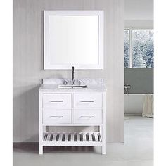 Photo Album Gallery Shop for inch Belvedere Bathroom Vanity with Marble Top Get free delivery at Overstock
