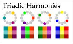 Pics For > Triadic Color Scheme Definition
