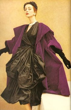 Balenciaga - I have a coat just like this in aubergine wool.