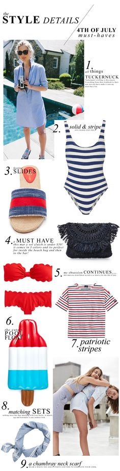 4th of July Must-Haves / A Dash of Details