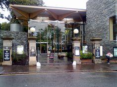 West Gate entrance to Edinburgh's Royal Botanic Gardens
