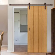 Thruslide Traditional Cherwell Cottage Oak Sliding Door - Prefinished - Lifestyle Image.    #oakdoor #slidingdoor