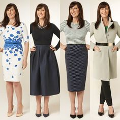 Rectangle Shape Body Type| Dressing to Give Yourself A Waist