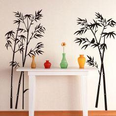 Buy StickersKart Beautiful Bamboo Tree Wall Sticker Online in India - DE191DE36WXJINDFUR - FabFurnish.com