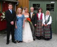 Eline and Morten with their siblings, via Flickr.
