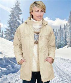 Winterparka Aus Microfaser #atlasformen #atlasformende #atlasformendeutschland #meinung #winter #atlasforwomen