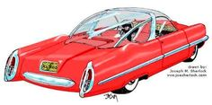 Lincoln XL500 Concept Car, 1953