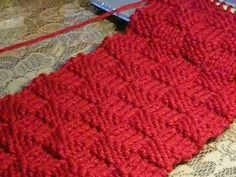 Cómo Tejer Punto Canasto Reversible-Basketweave Stitch 2 Agujas (360) - YouTube