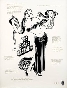 The Snake Charmer - Mike Giant - Available on Kooness.com