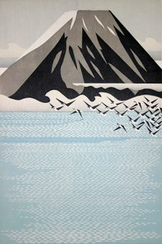 Fly me to the mountains ,  multi-colored relief prints by Morimura Ray