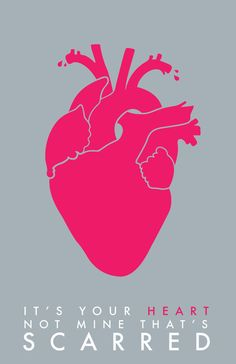 Scarred Heart 11 x 17 Art Print Poster by ragandbonestudio, $22.00