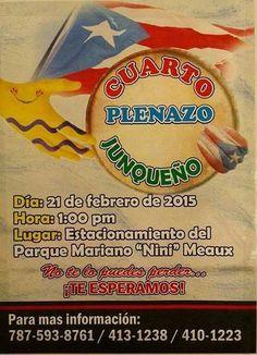Plenazo Junqueño 2015 #sondeaquipr #festivalespr #juncos #plenazojunqueno #parquemarianoninimeaux