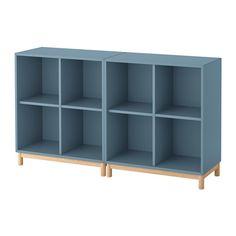 IKEA - EKET Storage combination with legs light blue