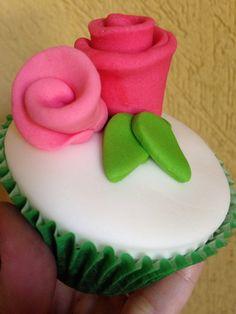 Cupcake de dia das mães