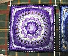 Ravelry: Odyssey 12 inch Square pattern by Letitia Sherriff