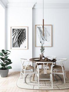 Skandinavisches Design Im Esszimmer