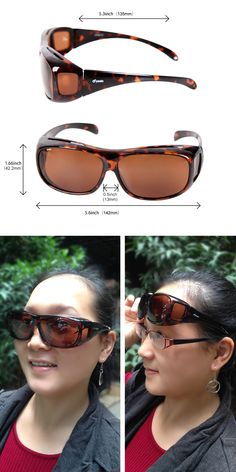 8f48f55973e  Lighteningdeal  Primeday  Primedaydeal  Yodo Fit Over  Glasses  Sunglasses  with Polarized