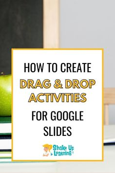 Wondering how to create interactive drag and drop activities with Google Slides? Click here to learn how! #googleslides #google #edtech | shakeuplearning.com Free Teaching Resources, Teacher Resources, Magnetic Poetry, Learning Goals, Music Class, Google Classroom, Student Work, Educational Technology, Shake