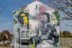 The Crystal Ship #14: Wasp Elder #WaspElder #TheCrystalShip #Oostende #Graffiti #StreetArt #StreetArtPhotography